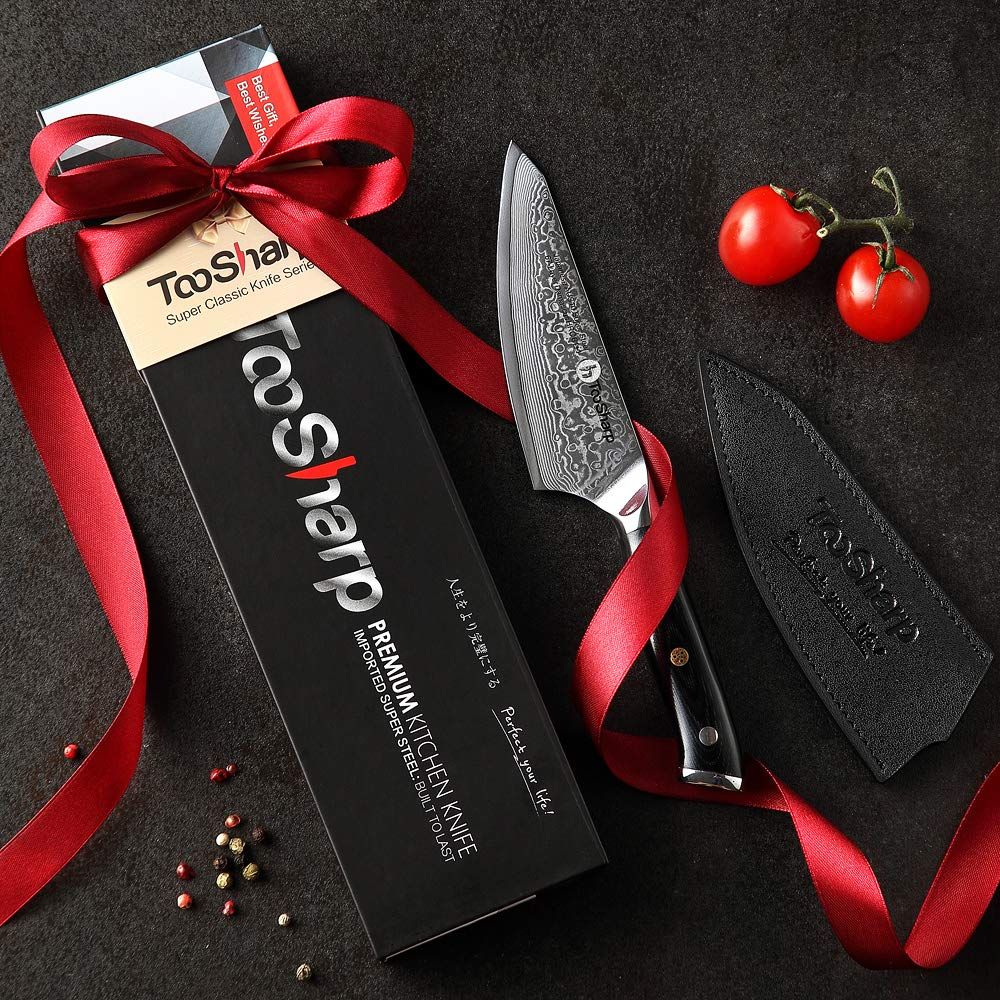 TooSharp Cuchillo Honesuki 5 pulgadas/Importado japonés ...