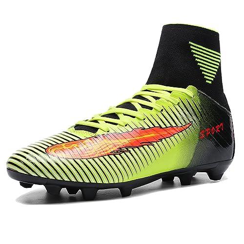 e2612760c9158 AKALI Botas de fútbol para niños Profesionales Zapatos de fútbol para Hombre   Amazon.es  Zapatos y complementos