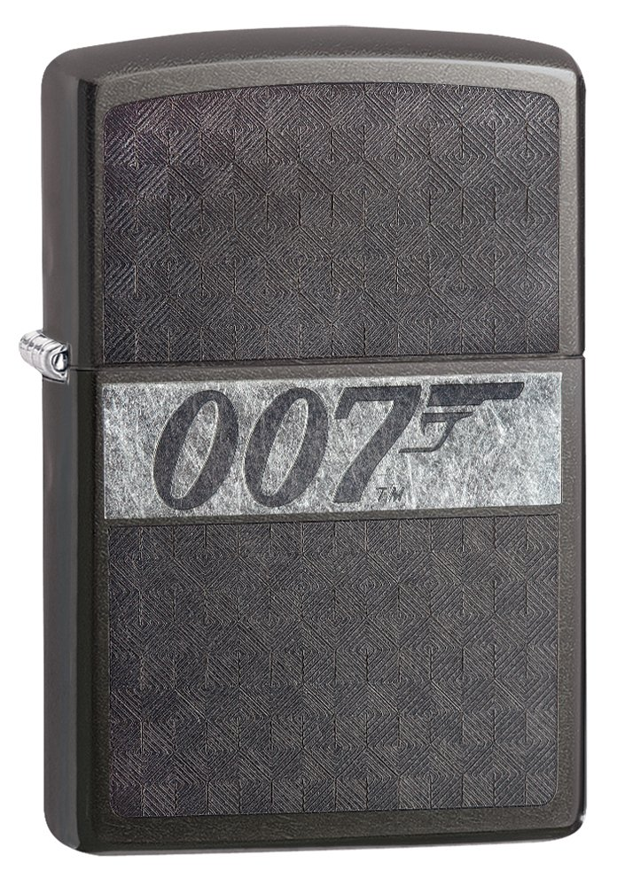 Zippo James Bond 007 Grey Dusk Lighter
