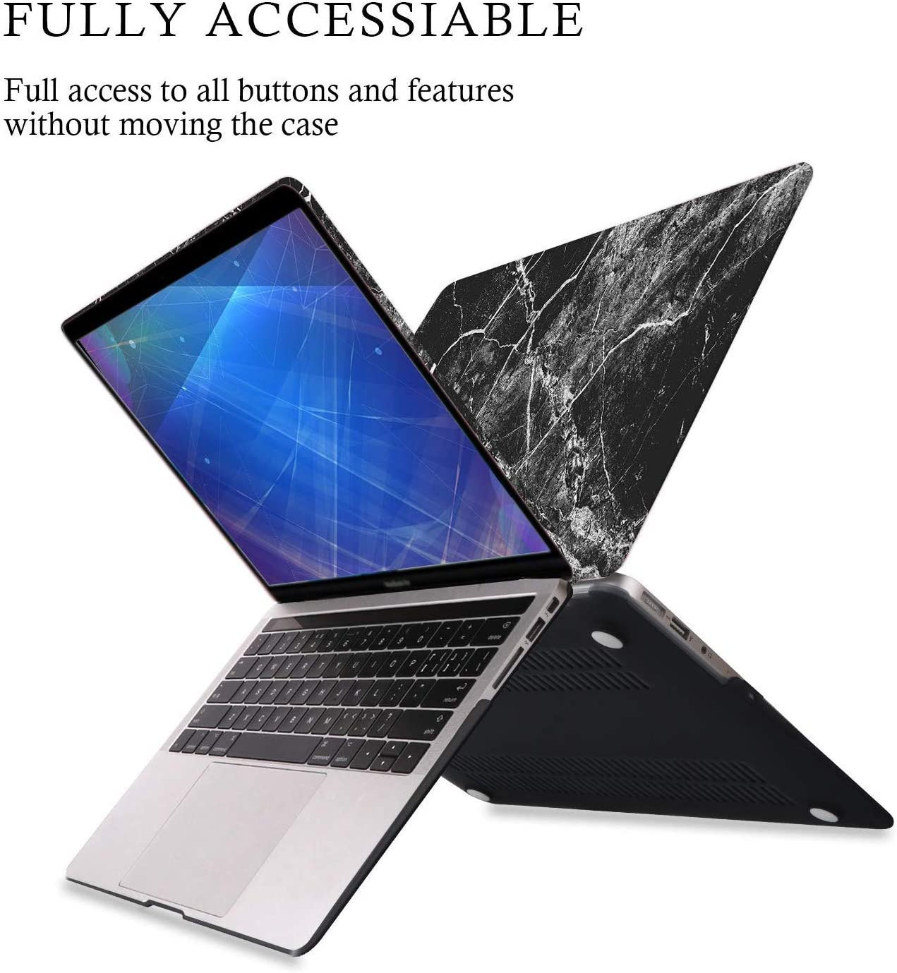 iLeadon MacBook Case /& Keyboard Cover /& Screen Protector Only Compatible MacBook Air 11 Inch MacBook Air 11 Inch Case Model:A1370//A1465 Release 2015 Gold Bees