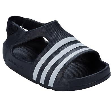 c6eb552b319c adidas Boys Infant Boys Adilette Sandals in Black - 5.5 Infant ...