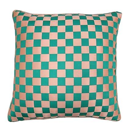 Amazon.com: S4Sassy Décorative Pillowcase Check Ribbon ...