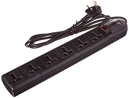 The 220 Volt Plug Amazon Com >> Amazon Com Vct Wps B Uk 220 Volt 240 Volt Universal Power Strip