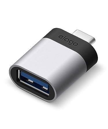 Amazon.com: elago Mini adaptador USB-C a USB 3.0 hembra de ...