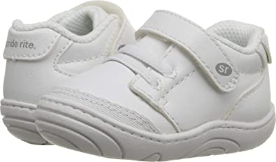 232ee0afb8ff Stride Rite Unisex Taye (Infant Toddler) White Synthetic 2 M US Infant