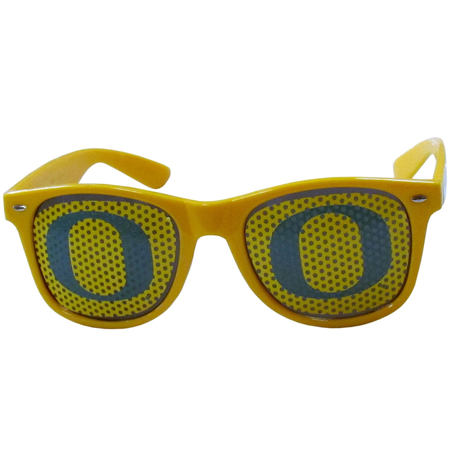 Yellow Adult NCAA Oregon Ducks Game Day Shades