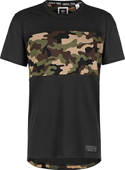 Skateboarding T Amazon Shirt Originals Pour Homme adidas Camo Block UFtwO