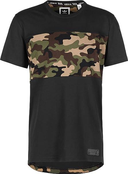 Adidas Camiseta Originals Skateboarding Camo Block para Hombre: Amazon.es: Ropa y accesorios