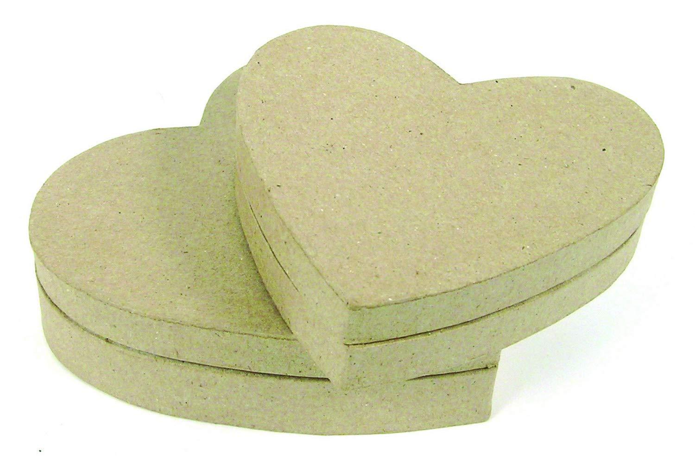 Decopatch XXS Heart box –  marrone BT035C