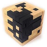 BSD Channel Tetris 3D Rompecabezas de Madera Natural