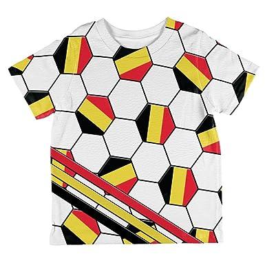 04dd82033d7 Amazon.com  World Cup Belgium Soccer Ball All Over Toddler T Shirt ...