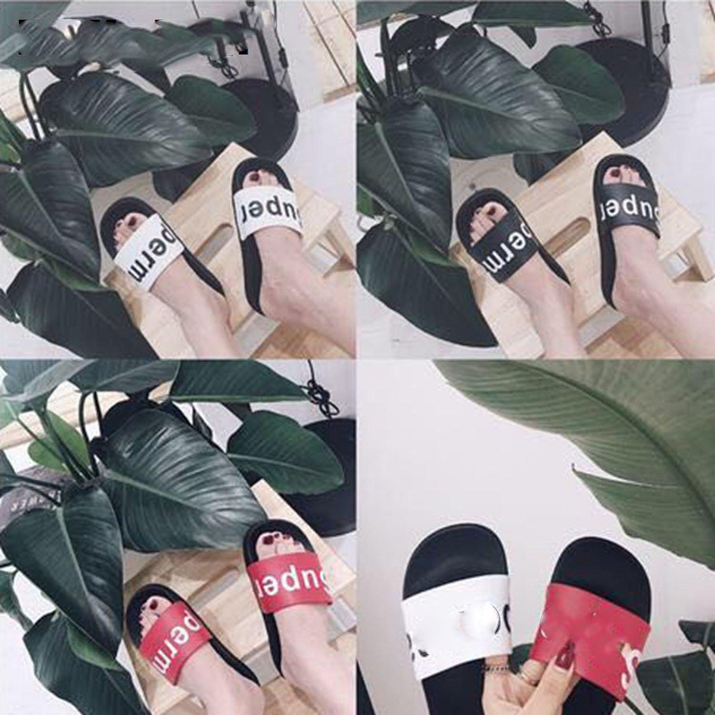 Good-memories Women Slippers Casual Shoes Slip On Slides Beach Flip Flops Sandal Slipper Home Beautiful Word Summe