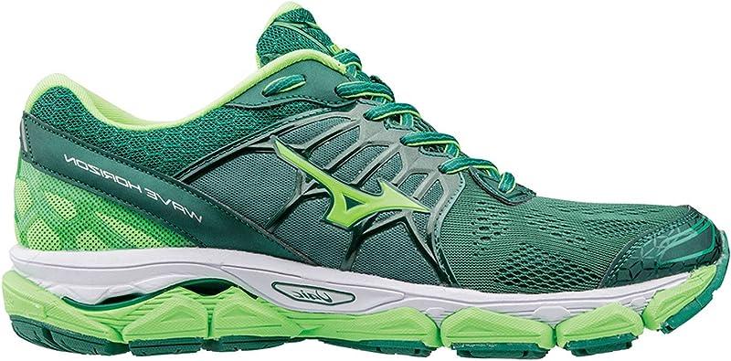 Mizuno WAVE HORIZON VERDE J1GC172646: Amazon.es: Zapatos y complementos