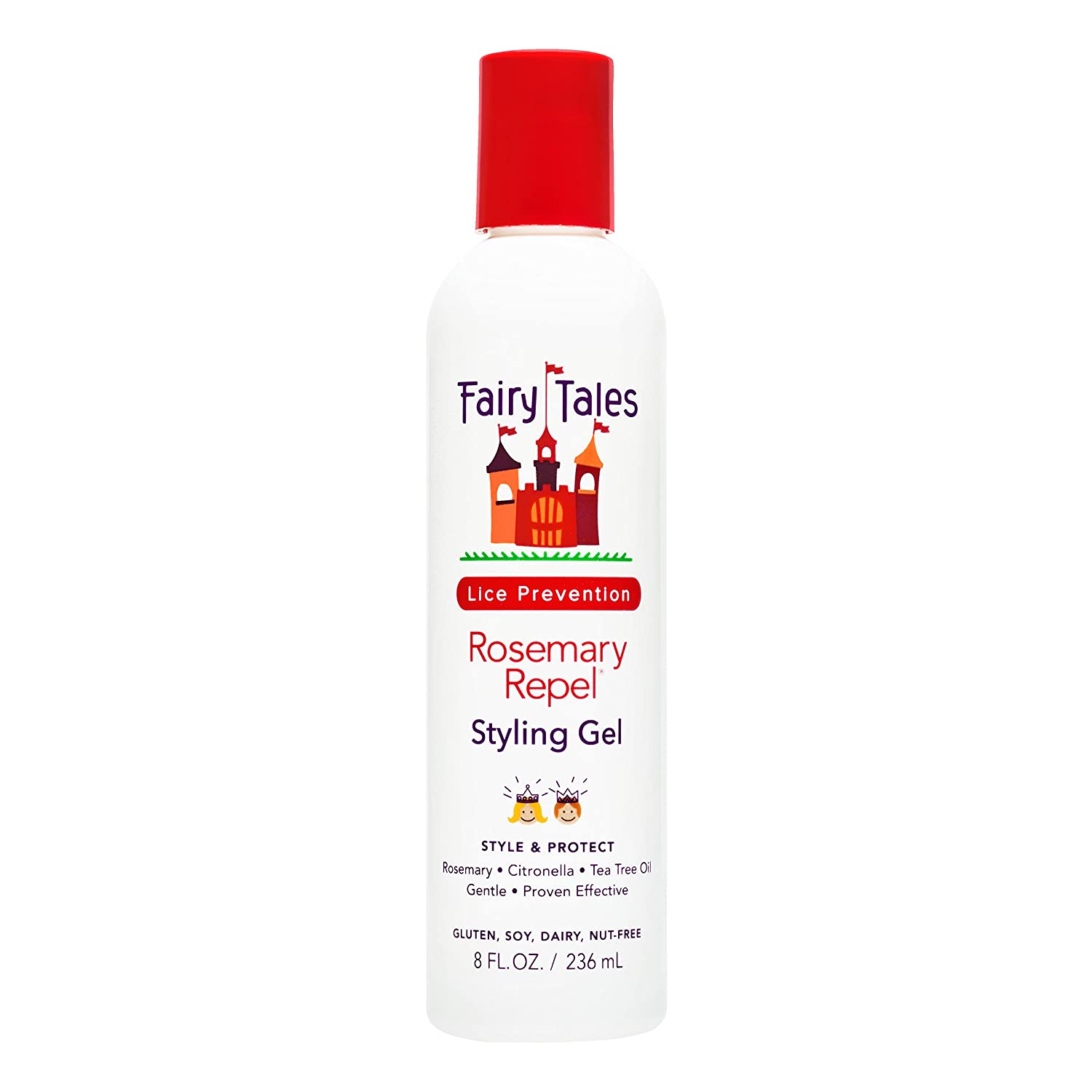 Fairy Tales Rosemary Repel Daily Kid Styling Gel- Kids Hair Gel for Lice Prevention, 8 Fl Oz (Pack of 1): Industrial & Scientific
