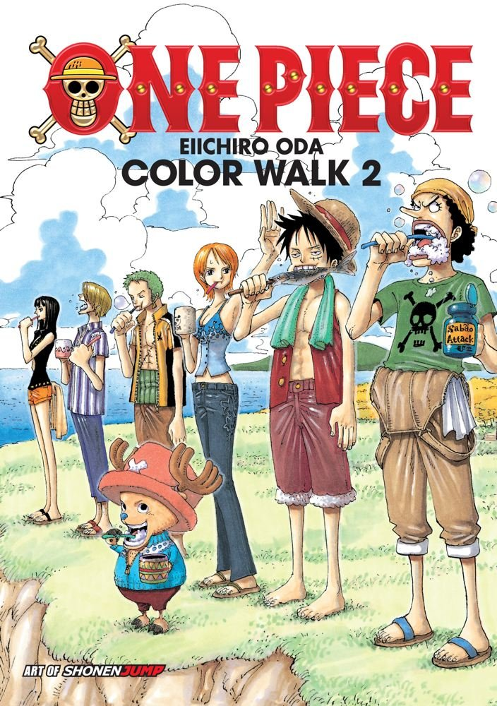 One Piece Art Book