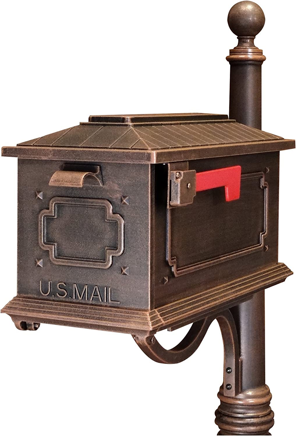 Special Lite Products Sck 1017 Cp Kingston Curbside Mailbox Copper Home Improvement