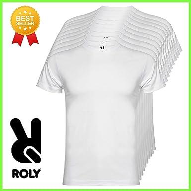 ROLY Pack 10 Camisetas básicas | algodón Modelo Braco 2020: Amazon.es: Ropa y accesorios