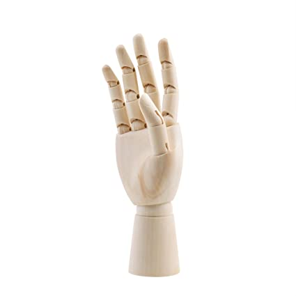 amazon com cm cosmos 7 wooden articulated figure manikin hand