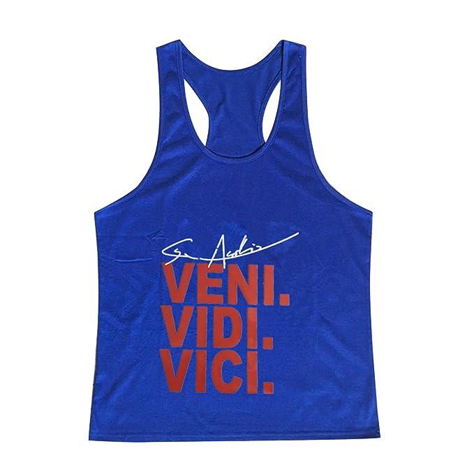 84707ee6ac697b semen Herren T-Shirt Tank Top Muskelshirt Buchstabe Slim Fit Jogging Sport  Streetwear Aktiv Tops Sweatshirt  Amazon.de  Bekleidung