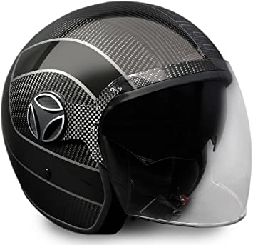 Momo 10140010002 Casco Moto, Arrow Carbon, XS