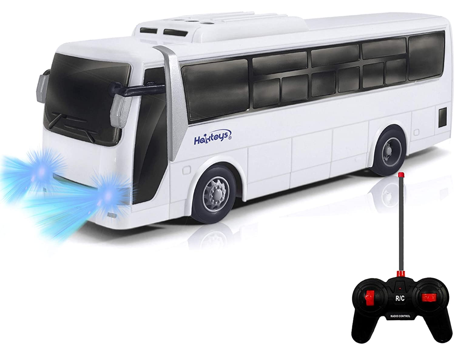 HAK125 Remote Control Passenger Bus Model Car Toy