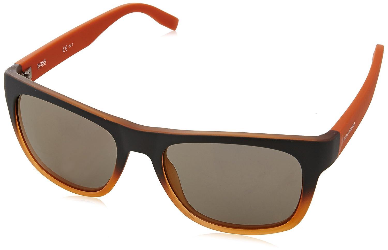 Boss Orange Herren Sonnenbrille BO 0249/S DK Qwo, Blau (Bluee/Flash Bluee Sky), 53
