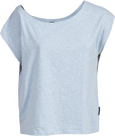 Trespass - Camiseta de Manga Corta con Hombros caidos Modelo Bacall para Mujer (Mediana (M)/Mora): Amazon.es: Ropa y accesorios