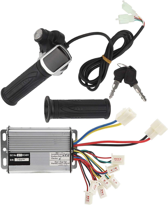 Cosiki Juego de Controlador de Scooter eléctrico, Controlador de Triciclo eléctrico, Juego de Controlador de Triciclo eléctrico Scooter eléctrico para Accesorio de Bicicleta Scooter eléctrico
