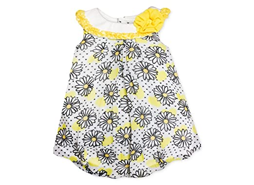 536485f57 Amazon.com: Baby Essentials Baby Girls' Floral Bubble Romper (6 ...
