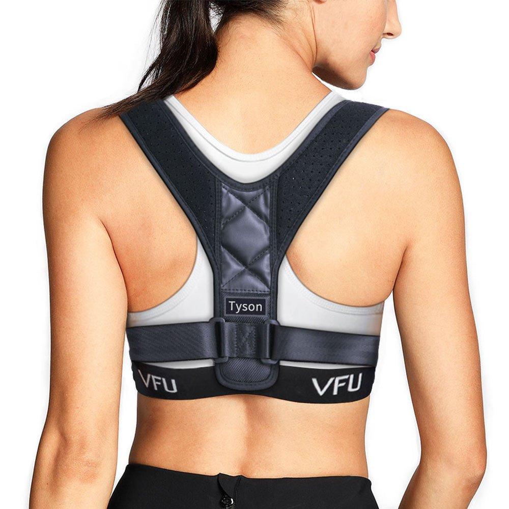 Tyson Posture Corrector for Women Men-Posture Brace Bad Posture Correction Strap Belt for Improve Posture,Upper Back Shoulder Clavicle Support and Pain Relief