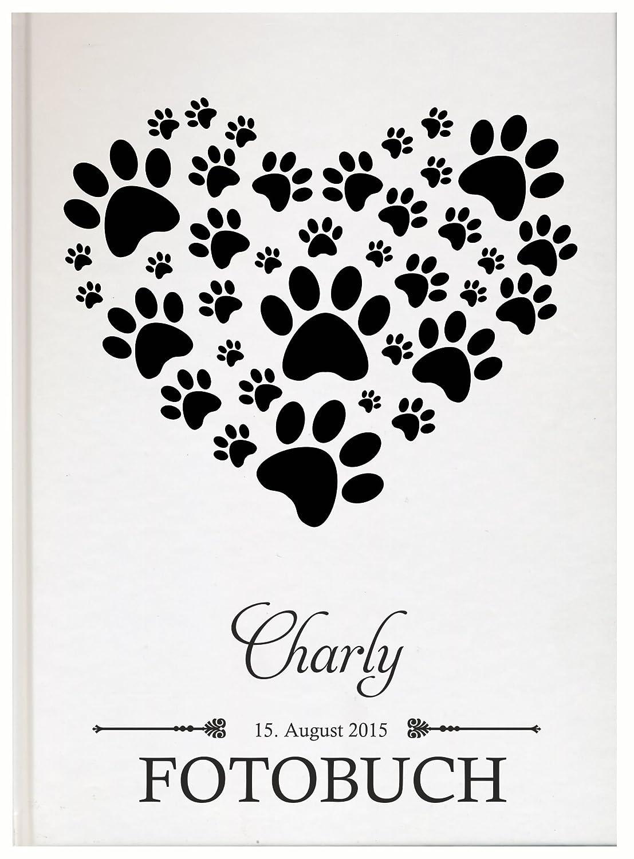 Personalisiertes Fotobuch für Ihr Haustier Pet Fotoalbum Erinnerungsbuch (Motiv 12, 160 Seiten  80 Blatt)