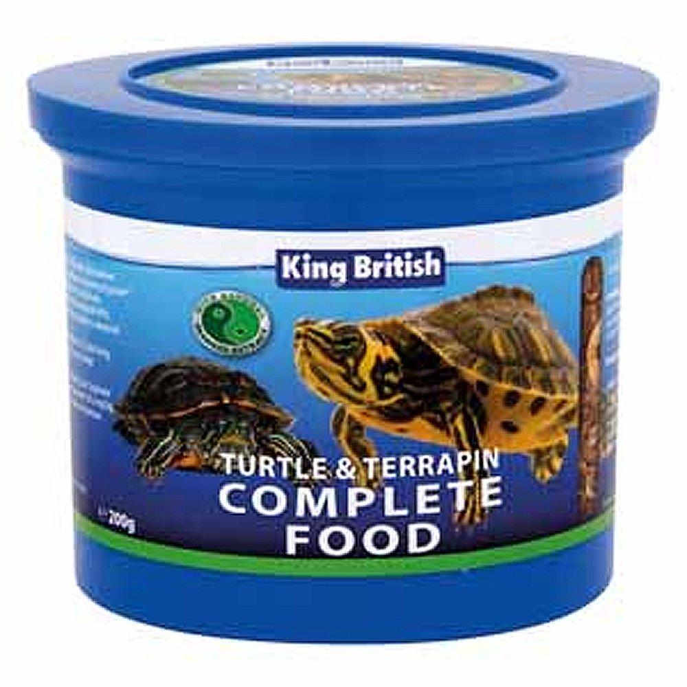 King British Turtle and Terrapin Food 200 g Beaphar Uk Ltd 17893