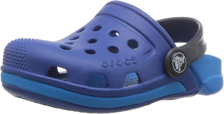 Vibrant Violet//Ultraviolet crocs Kids Electro II Clog
