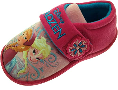 Disney Frozen 2 Anna /& Elsa Nature Is Magical Girls Novelty Character Slippers