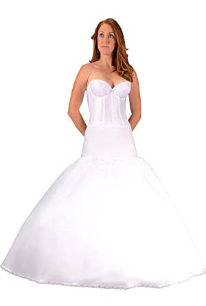 Bridal Petticoat Crinoline Fit And Flare Slip For Wedding Dress Ball Gown,  USA At Amazon Womenu0027s Clothing Store: Apparel Full Slips