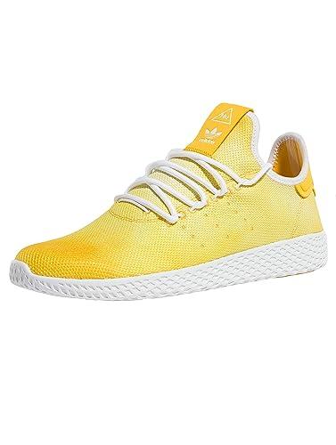 adidas schuhe weiß gelb