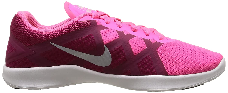 new product f1cef 097c6 NIKE Women s Lunar Lux TR Training Shoe Pink Pow Sport Fuchsia White  Platinum Size 6.5 M US