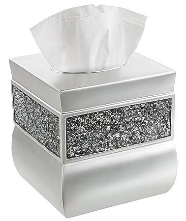Amazon.com: Creative Scents Tissue Box Cover Square, Decorative ...