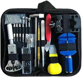 1X 147 PCS Kit de reparation de montres Ensemble professionnel d/'outils de b ntr