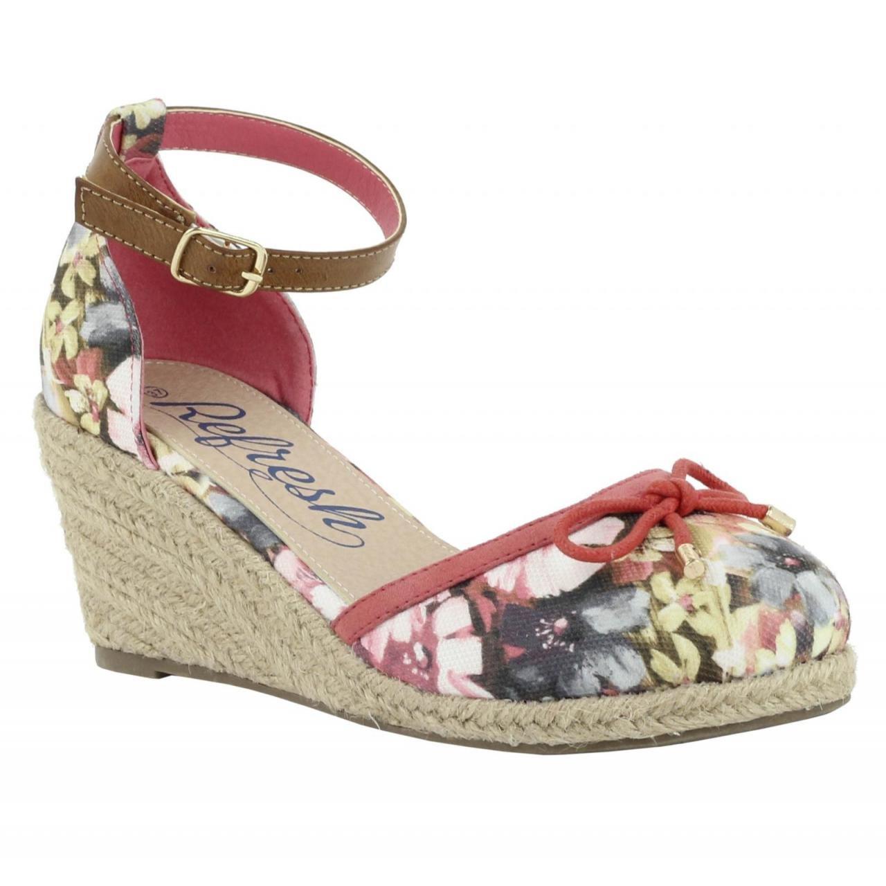 Refresh Schuhe Keilabsatz - für Damen 61791 TEXF Coral - Keilabsatz 24cbd8
