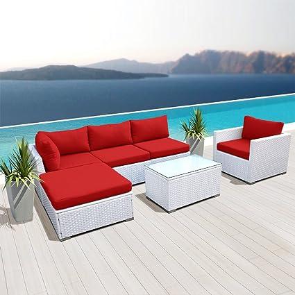 Astonishing Amazon Com Modenzi New L6D U Outdoor Sectional Patio Uwap Interior Chair Design Uwaporg
