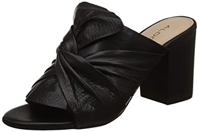 f5c1a7b4aa2 Aldo Women's Kedeide Black Leather Fashion Sandals-2 UK/India (35 EU)