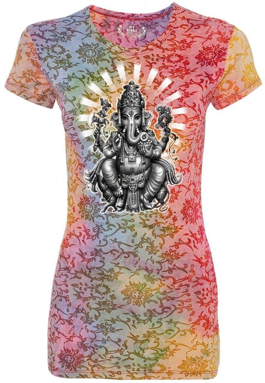 Yoga Clothing For You Ladies Ganesha Burnout Tee Shirt
