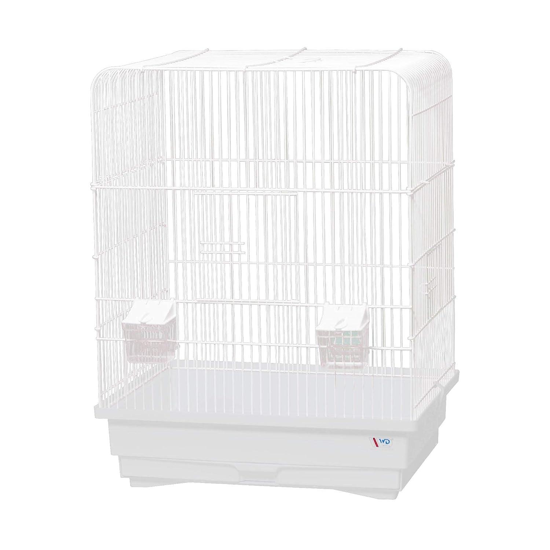 decorwelt Jaula para pájaros, tamaño XL, Color Blanco, Dimensiones ...