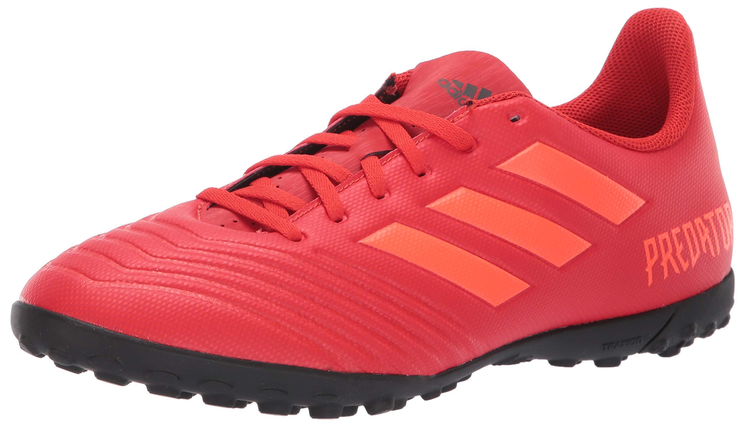 adidas Men's Predator 19.4 Turf, Active Solar red/Black, 8 M US