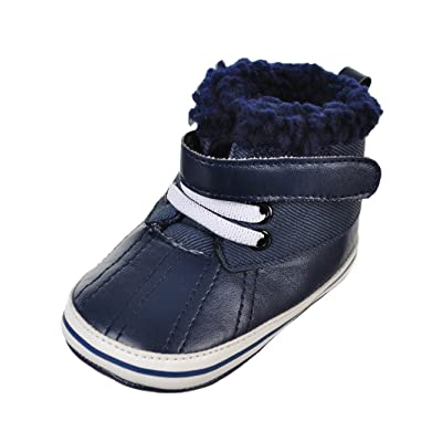 Rising Star Baby Boys' Sneaker Booties