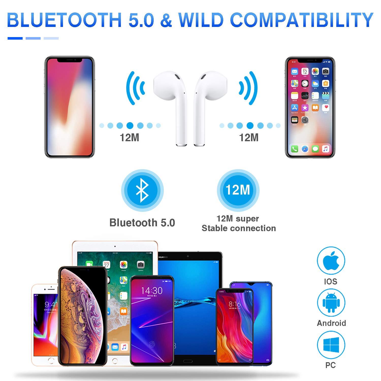 Kopfhrer Bluetooth-Kopfhrer Bluetooth 5.0 Drahtloses Bluetooth ...