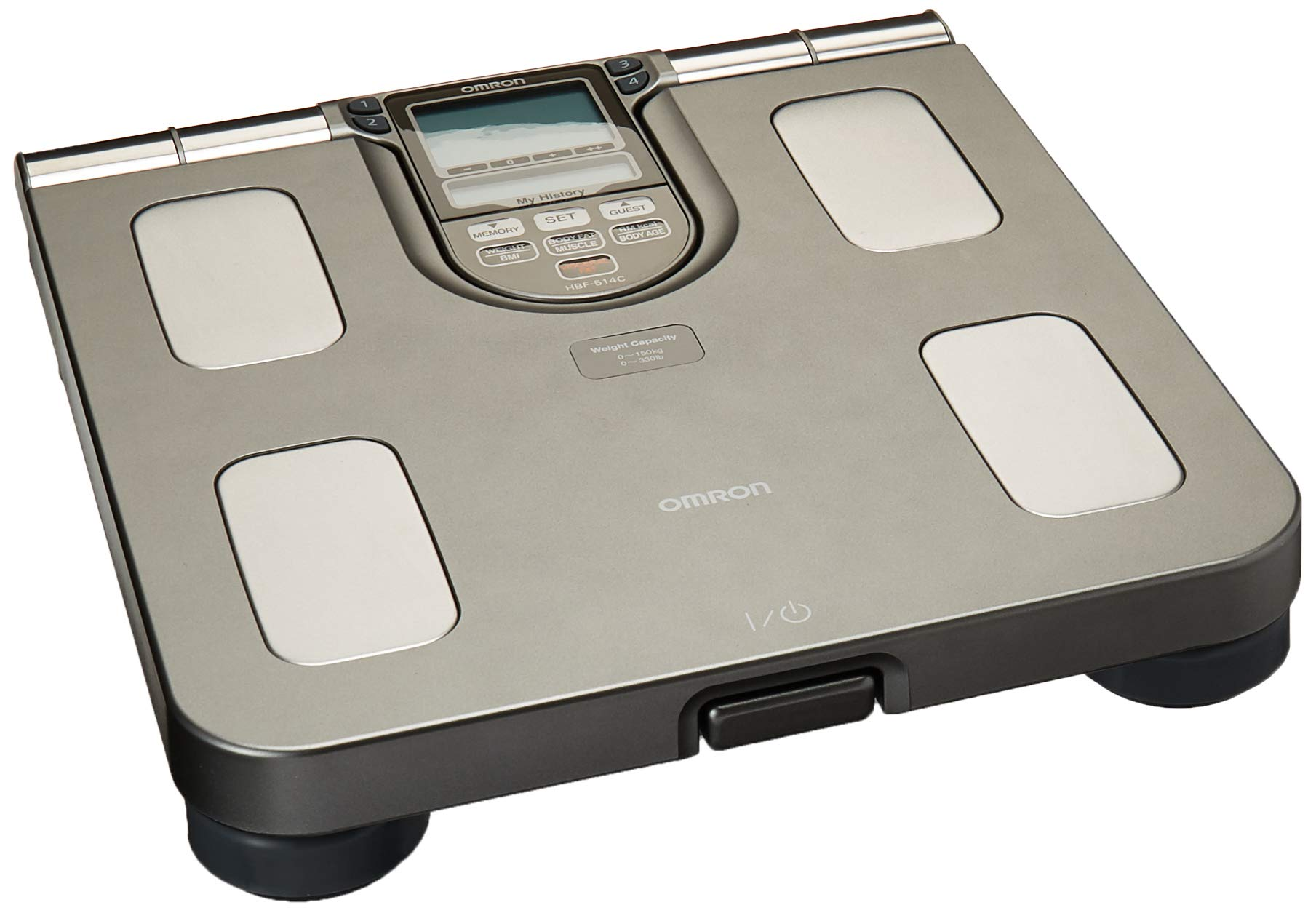 Omron HBF-514C Body Composition Monitor And Scale With Seven Fitness Indicators by Omron (Image #1)