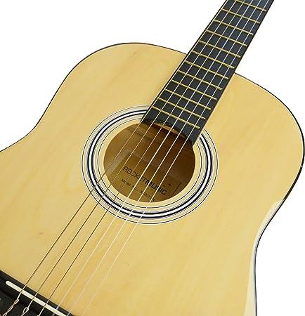 Rocket XF201CN XF Serie - Guitarra española clásica, color natural, tamaño 3/4: Amazon.es: Instrumentos musicales