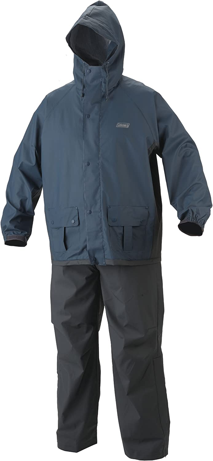 Coleman Men's 35mm PVC/Poly Rain Suit